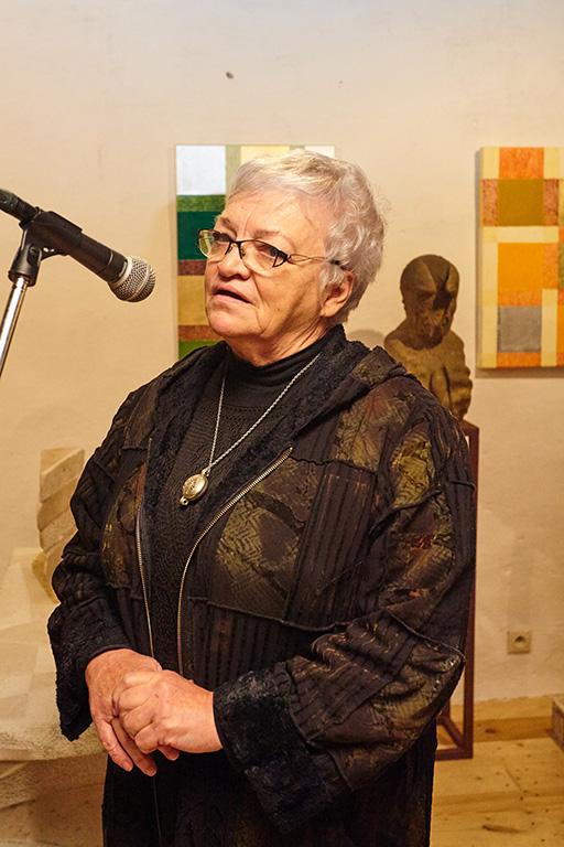 Vernisáž autorskej výstavy Viliama Lovišku a Marcely Loviškovej - Ročník 1961 -1964; Modra, 26/11/2016.